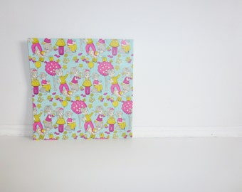 Vintage Children Wrapping Paper