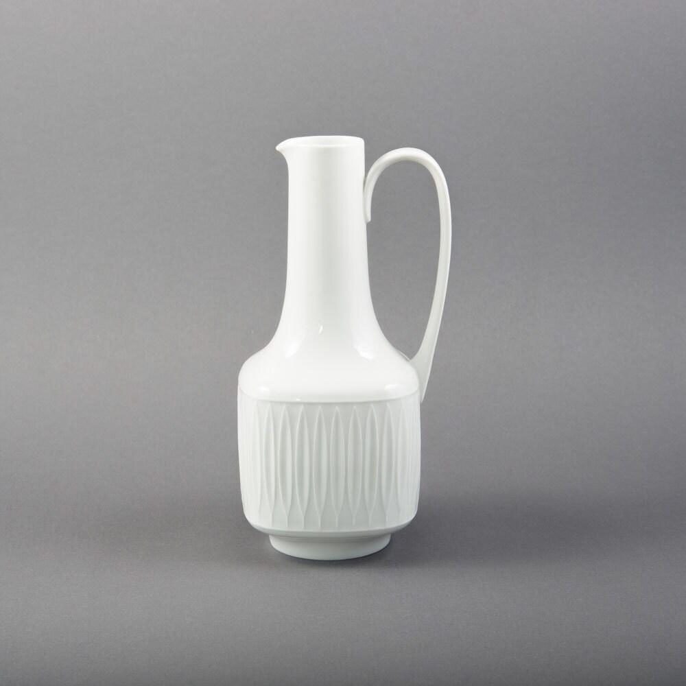 vase mid century modern porzellan hutschenreuther 60er vintage. Black Bedroom Furniture Sets. Home Design Ideas