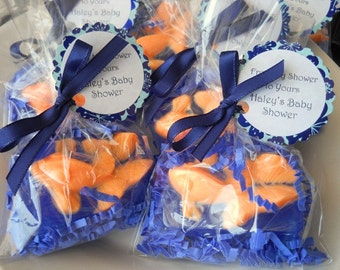 20 Goldfish Soap Party Favors, Bridal Shower Favors, Kids Party Favors, Baby Shower favors, Glycerin Soap, Homemade soap, Vegan party favors