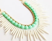 The Tribal Spike Necklace: PREORDER