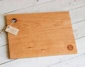 Custom 11x16 Cherry Cutting Board