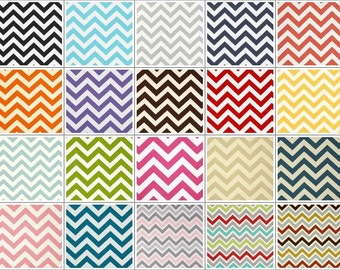Pick Your Own Chevron Lumbar Pillow Cover - 12 x 16 or 12 x 18 Inch Throw Pillow Cushion Cover Accent Pillow - Chevron Pillow