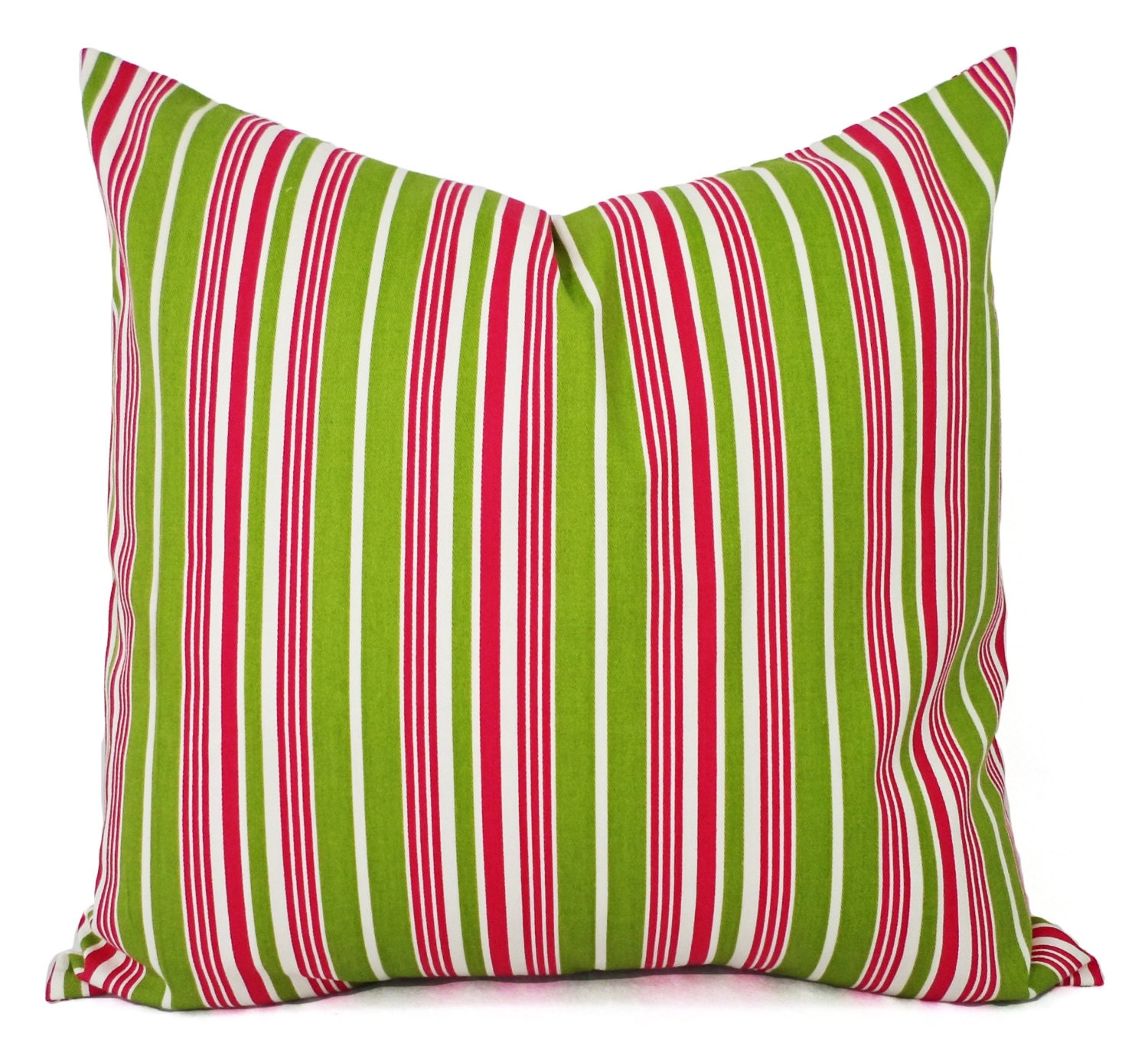 Throw Pillows In Clearance : CLEARANCE Decorative Pillow Cover Green and Pink Pillow