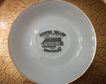 Souvenir Demitasse Renfro Valley Kentucky Saucer