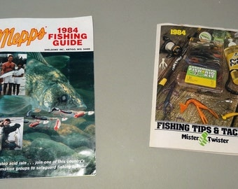 1984 Fishing Tips and Tackle Guides From Mepps and Mister Twister