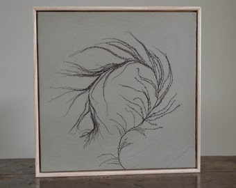 Framed Georgian Sea Flower II