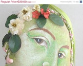 ON SALE Spring Handpainting Decoration -  Flowering Decoration, ready to ship