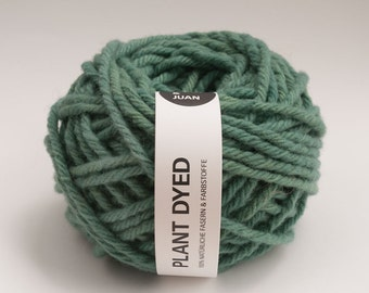 Plant Dyed - Merino Wool - 8 mm - Teal