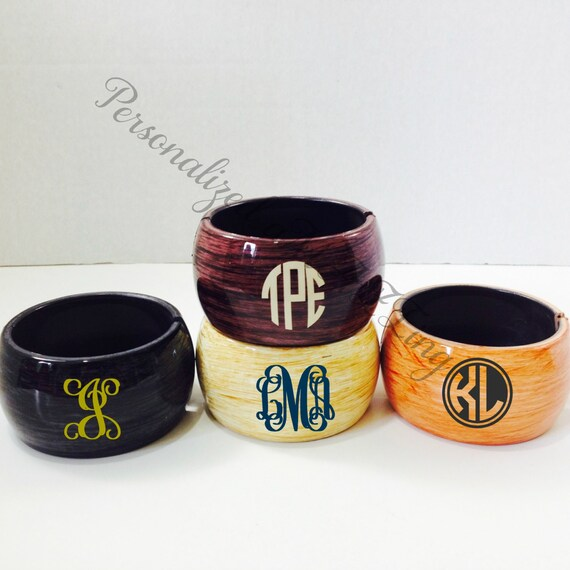 Monogram Bracelet,  Christmas Gift,Personalized Bracelet, Monogram gift, birthday gift, Monogram, Preppy,  monogram bangle