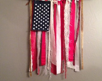 American Flag Hanging / 4th of July Decoration / Independence Day United States