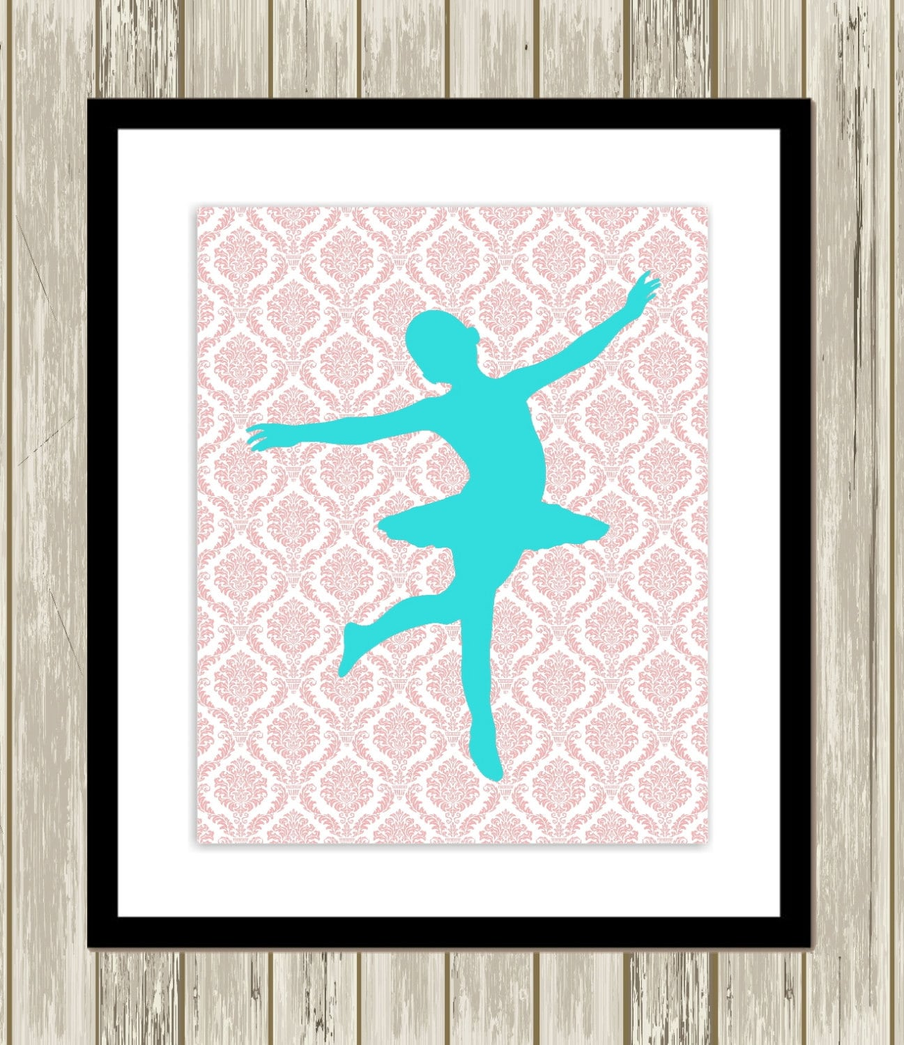pre teen girl wall art little ballerina baby girl nursery. Black Bedroom Furniture Sets. Home Design Ideas