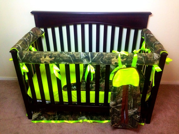 Mossy Oak Any Camo Of Your Choice Crib Set With By Itburnsbaby