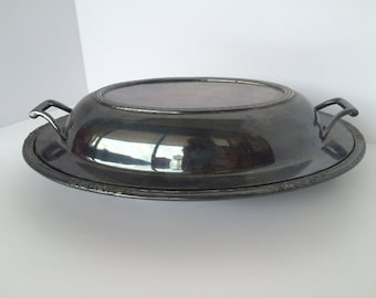International Silver Covered Dish