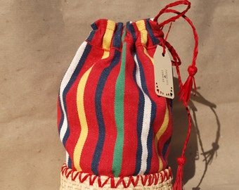 Coiled Basket Bag
