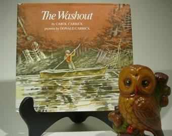 The Washout, 1978, Carol Carrick, Donald Carrick, vintage kids book