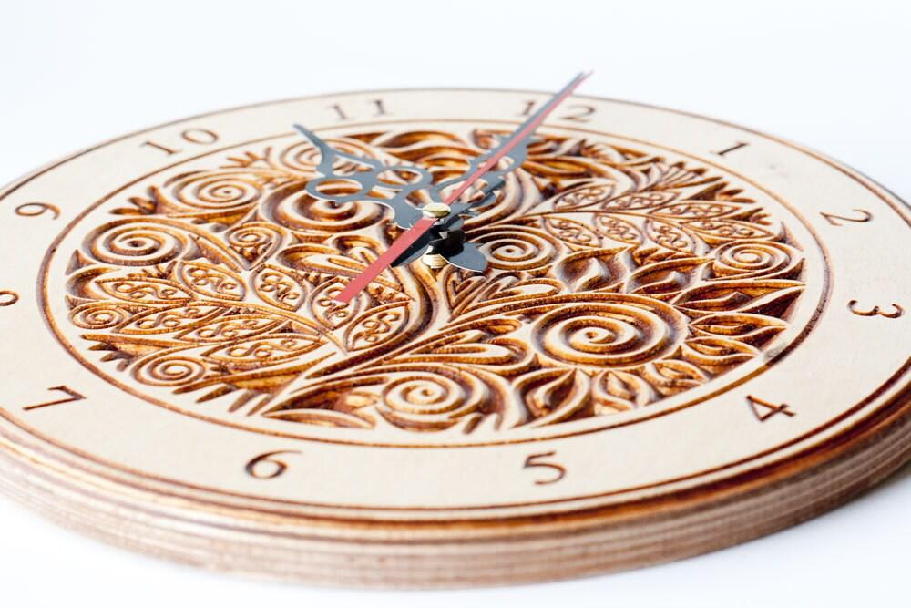 Clock Gift Vintage Clock Wall Home Decor Clock Wood Decorative