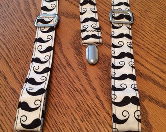 Mustaches suspenders for newborn to 10 yrs old