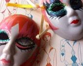 Harlequin Mask Duo
