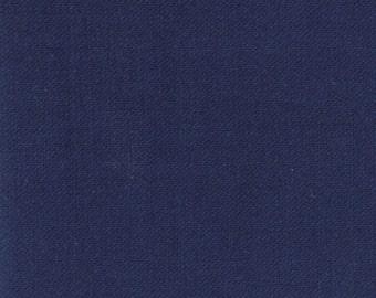 Bella Solid Nautical Blue 1/2 Yard Fabric - 9900 236