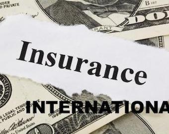 INSURANCE for INTERNATIONAL customers
