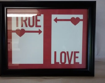 Matted Picture Frame - True Love