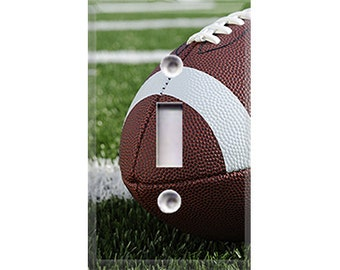 Football Field Light Switch Cover
