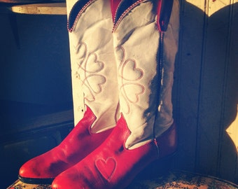 SALE Sweetheart of the rodeo vintage boots
