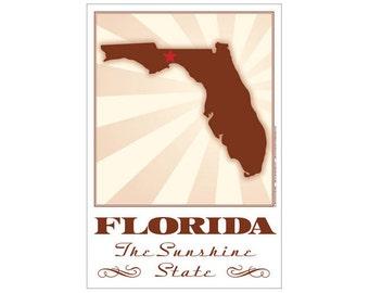 Florida State Poster