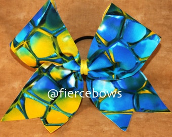 Bahama Mama Cheer Bow