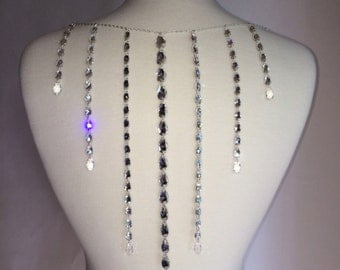 Crystal Fringe - Swarovski crystal back attachment