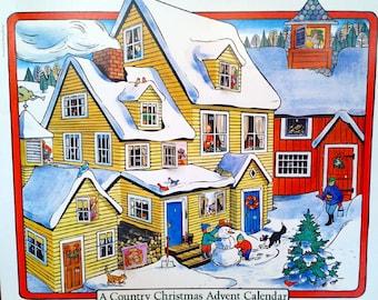A Country Christmas Advent Calendar