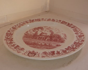 Vintage Wedgewood Plate - Monticello