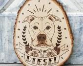 Pet Portrait Plaque