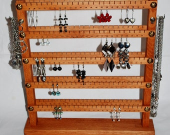 Jewelry organizer stand, holder stand, jewelry display, jewelry holder