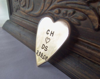 I Heart You Initials Special Date Wallet Insert Women Mens Gift Birthday Boyfriend Girlfriend Engagement Gift Best Selling Jewelry Valentine