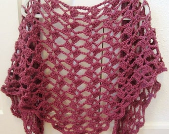 Crochet Pattern Shawl Lace Wrap Scarf