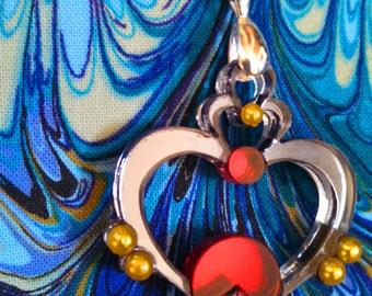 Sailor Pluto's Garnet Orb Pendant