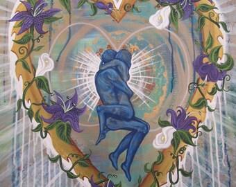 Heart Love Embrace Infinity Print