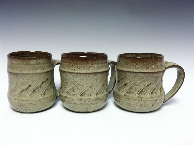 Handmade Mugs Coffee Mugs Large Coffee Mugs Stoneware Mugs