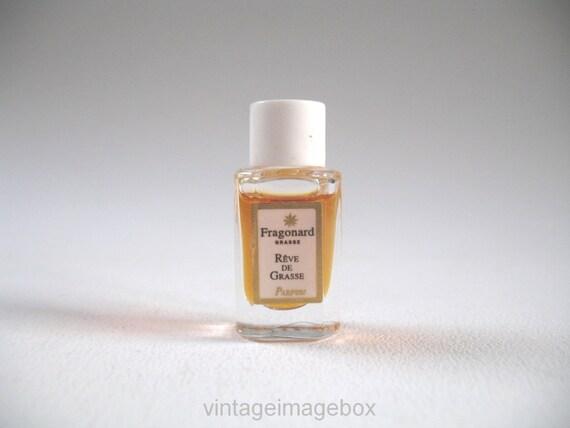 fragonard reve de grasse parfum mini micro bouteille en. Black Bedroom Furniture Sets. Home Design Ideas