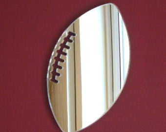 Rugby Ball Shaped Mirrors - 5 Sizes Available