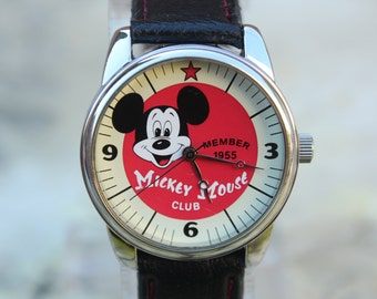 Walt Disney Mickey Mouse Club Collectible Wrist Watch