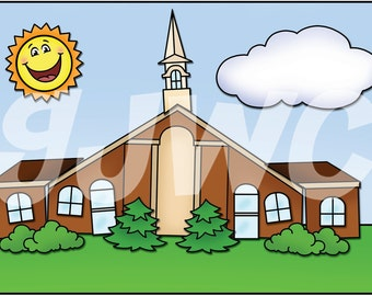 BUILD a CHURCH Children's File Folder Game - Downloadable PDF Only