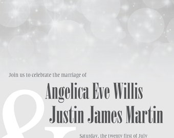 Angelica Wedding Invitation