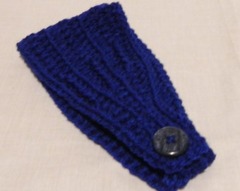 Navy Earwarmer/Headband