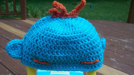 Crochet Pattern For Troll Hat : Items similar to PDF Crochet PATTERN- Troll kids crochet ...