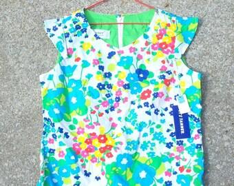 Vintage Shirt, Vintage Floral Shirt, Floral Shirt, Floral Print Shirt, Floral Print Top, Vintage Floral Top, Spring Shirt, Spring Top, NWT