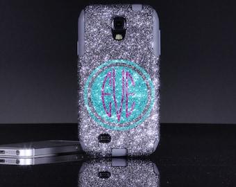 Otterbox Galaxy S4 Case - Monogram Samsung Galaxy S4 Otterbox  Case - Personalized Otterbox Galaxy S4 Case Cover