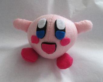 Made to order Kirby Inspired Plush