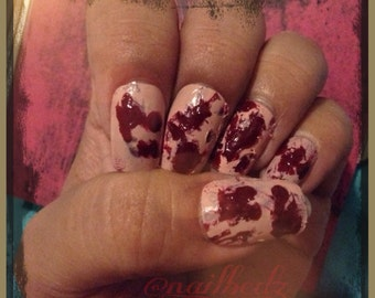Bloody Zombie nails!